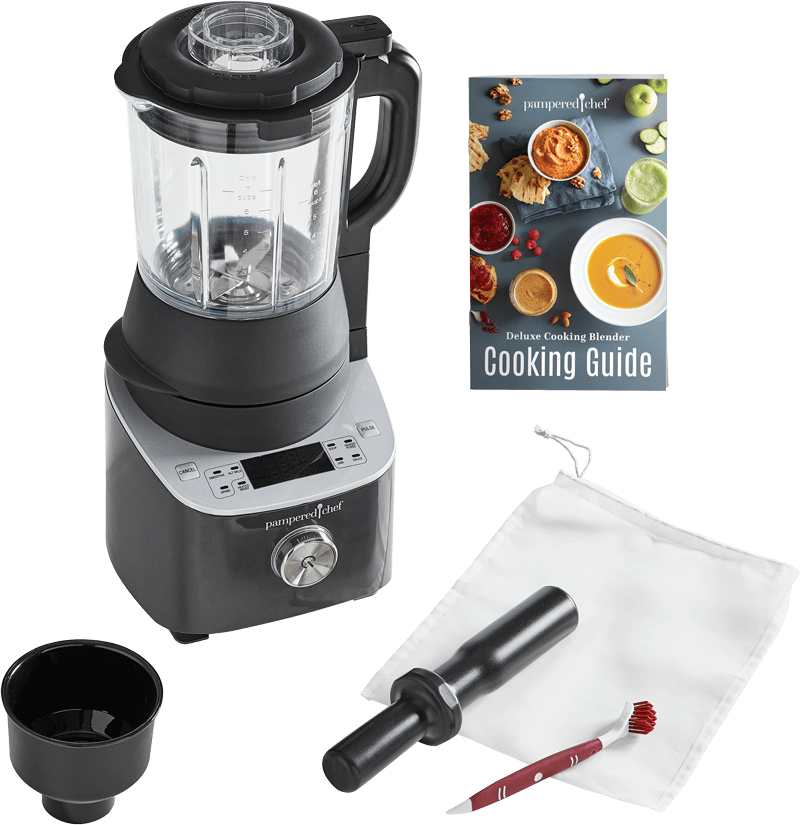 Anatomy of the Deluxe Cooking Blender