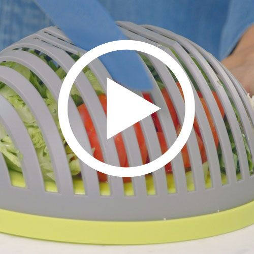 Play Salad Cutting Bowl Video