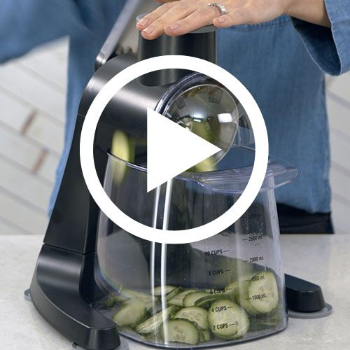 Play Quick Prep Food Grater Video