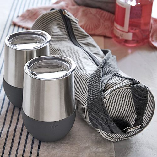 Wine Tumblers With Bag