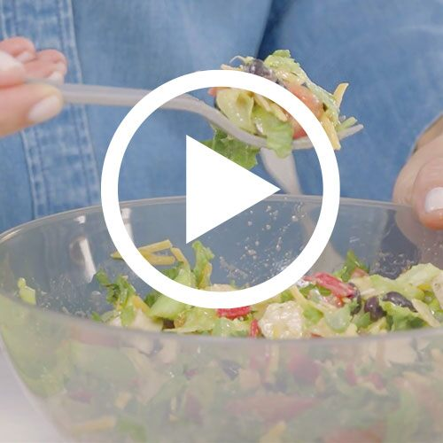Play Salad Cutting Bowl Set Video