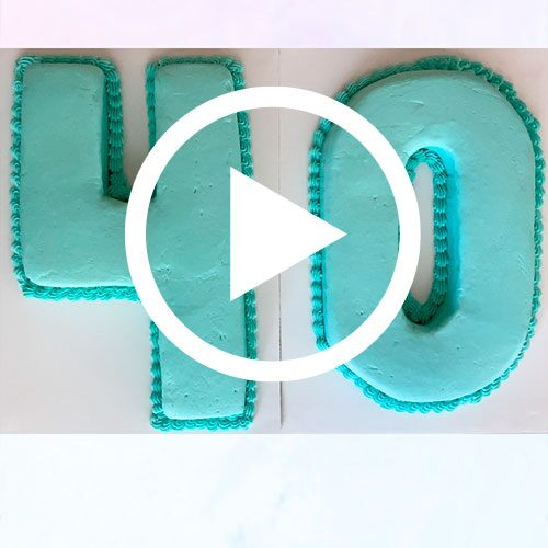 Play Numbers and Letters Cake Pan Video