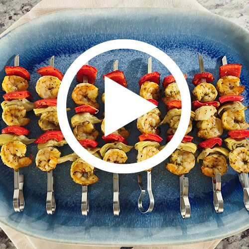 Play Deluxe Air Fryer Skewers Video