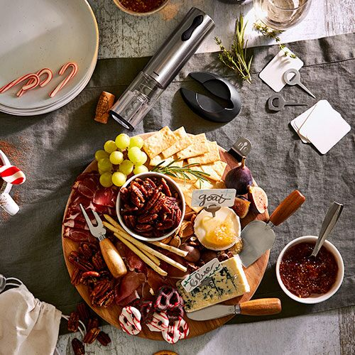 Wine & Cheese Gift Set