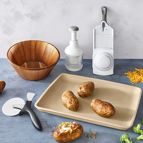 *Stone Bar Pan Meal Set