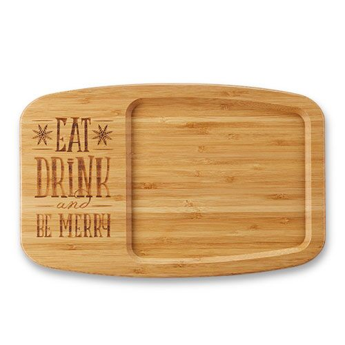 Eat, Drink & Be Merry Cheese Board
