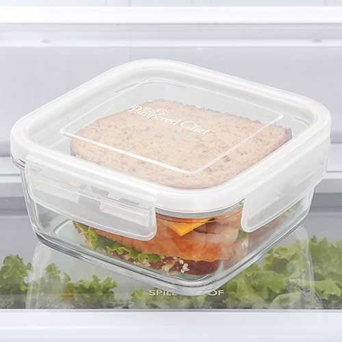 3-cup (750-mL) Leakproof Glass Container