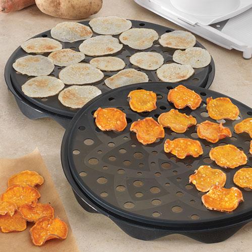 Microwave Chip Maker Set Shop Pampered Chef Canada Site