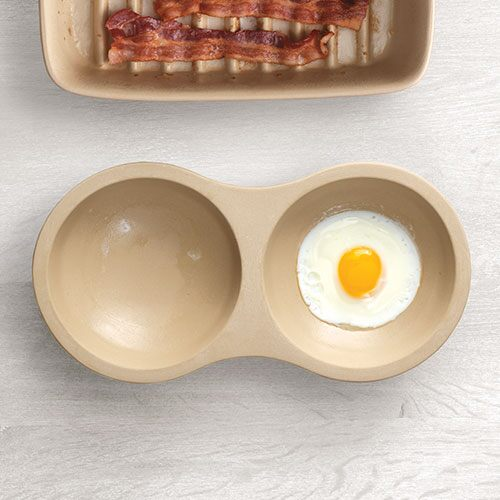 Stoneware Microwave Egg Cooker