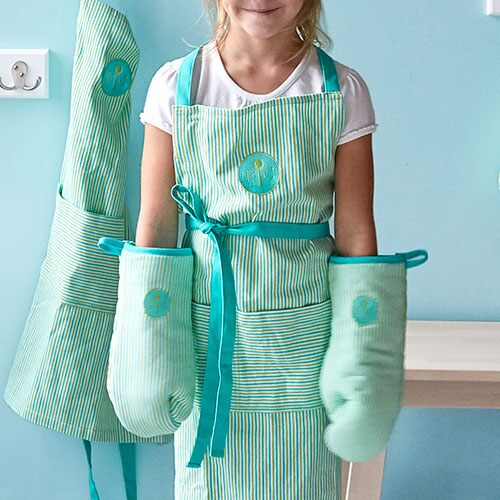 Kids' Oven Mitt Set