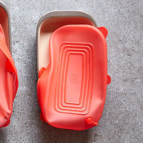Small Rectangular Stretch-Fit Silicone Lid