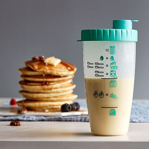 Pancake Shaker Bottle
