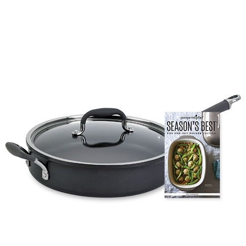 *Exec Nonstick Covered Skillet w/Free S.Best
