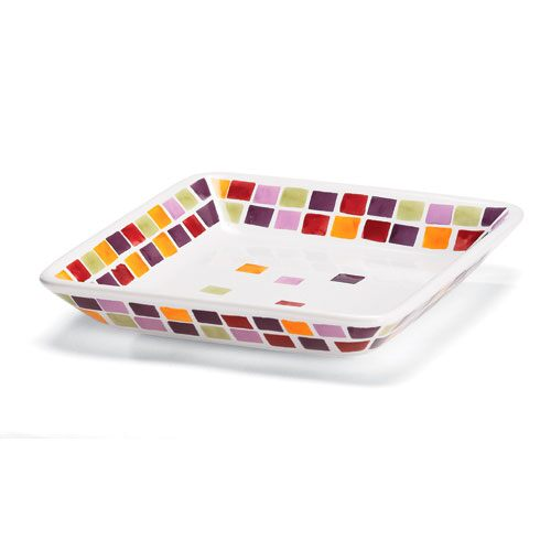 Tiles Small Square Plate