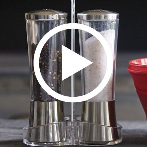 Play Salt & Pepper Grinder Set Video