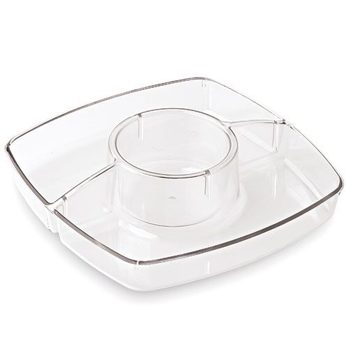 3-Well Tray