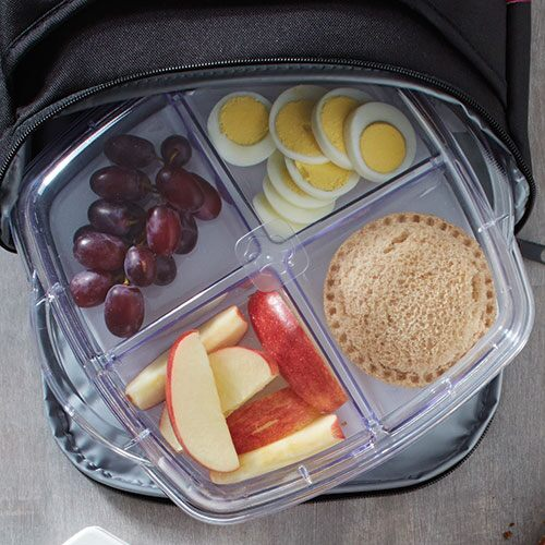 4-Section Tray for Small Square Cool & Serve