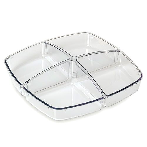 Cool & Serve Small – 4 Section Tray