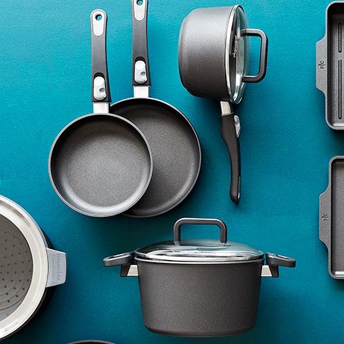 6-Piece Nonstick Cookware Set