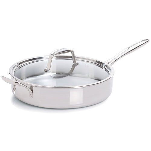 Stainless 12″ (30-cm) Covered Skillet