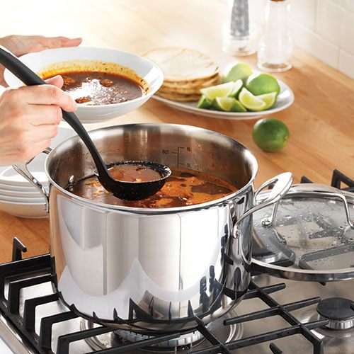 Stainless 8-qt. (7.6 L) Covered Stockpot