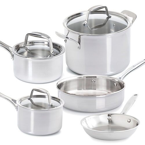Stainless Steel 8-Piece Set