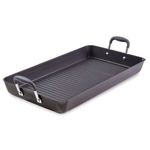 Executive Nonstick Double Burner Grill