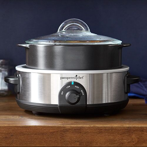 Rockcrok 4-qt. (3.8-L) Slow Cooker Set