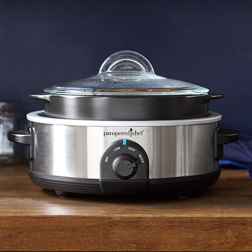 *Rockcrok® 2.5qt (2.35L) Slow Cooker Set