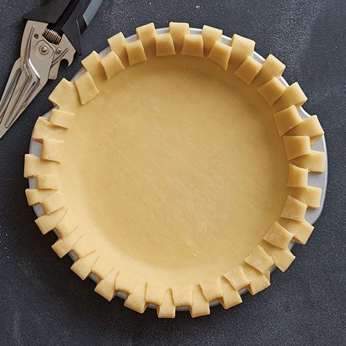 Modern Checkerboard Pie crust