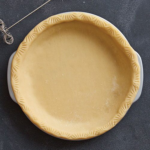 Imprinted Pie Crust
