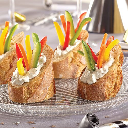 Veggie Stuffed Bread Cups