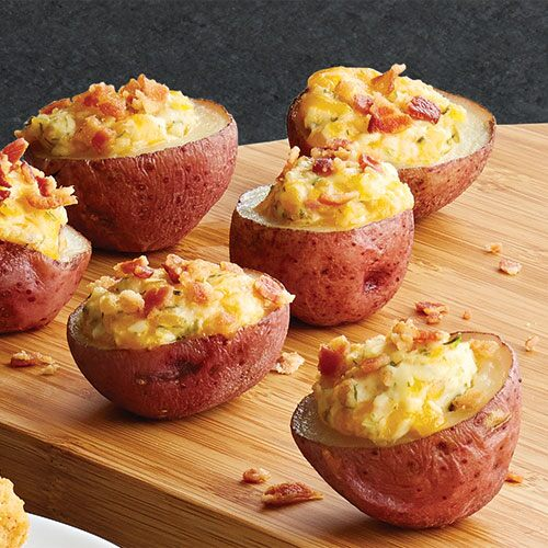 Cheesy Potato Bites