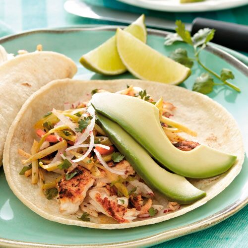 Blackened fish tacos recipes pampered chef canada site for Blackened fish tacos