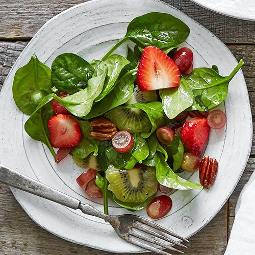Summer Fruit & Spinach Salad