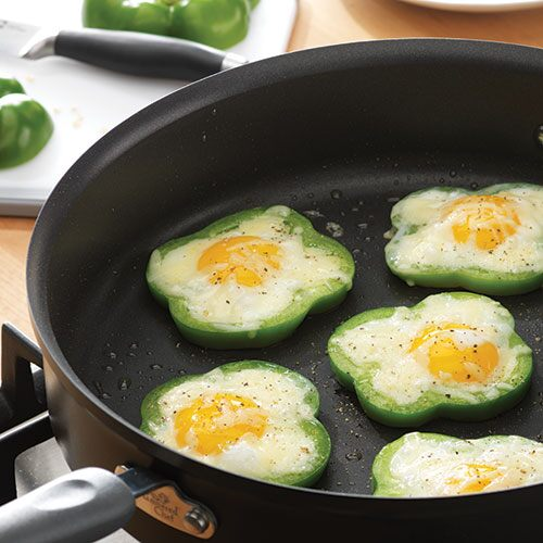 Eggs in a Shamrock