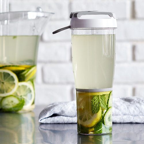 Lemon-Ginger-Cucumber & Mint Water