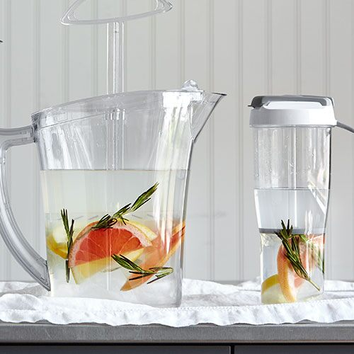 Grapefruit Rosemary Water