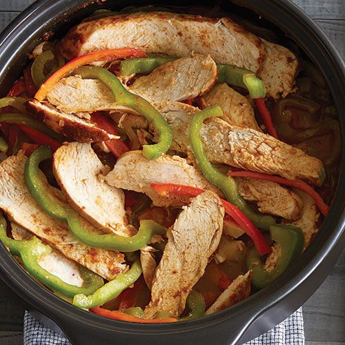 Quick Chicken Fajitas