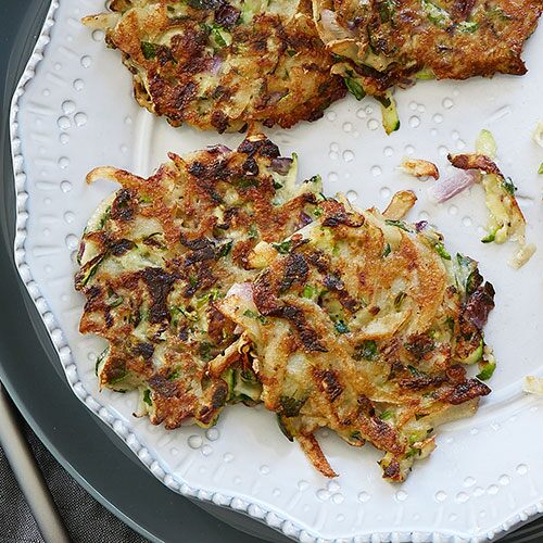 Savory Vegetable Latkes