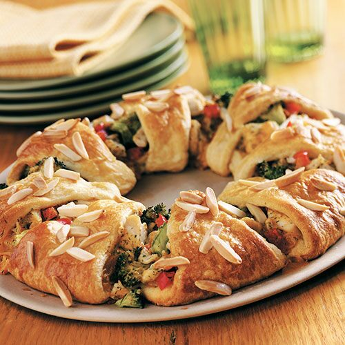 Chicken Amp Broccoli Ring Recipes Pampered Chef Canada Site
