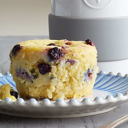 Blueberry Lemon Microwave Muffin