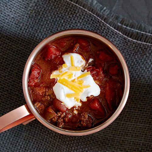 Slow Cooker Easy Chili