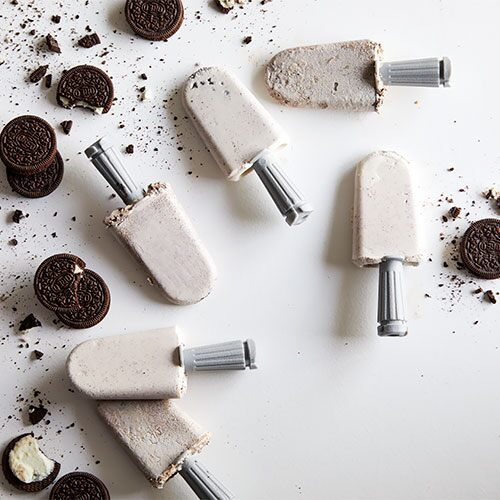 Cookies and Cream Quicksicles