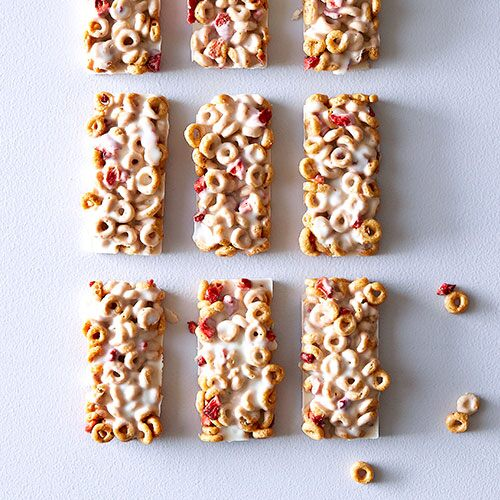 Milk and Cereal Bars