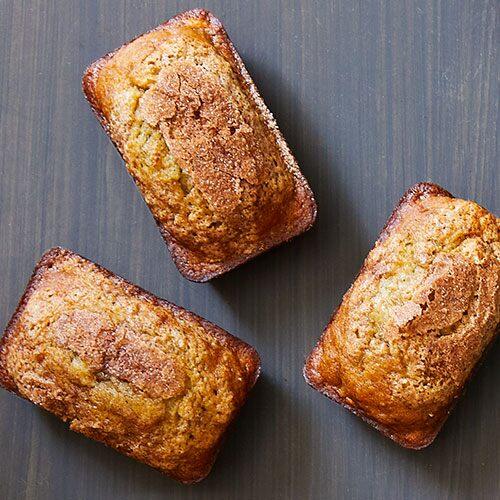 Mini Banana Bread Loaves