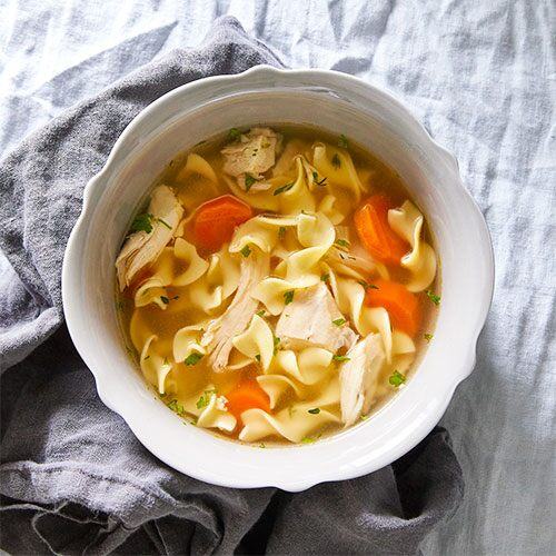 Quick Cooker Chicken Noodle Soup