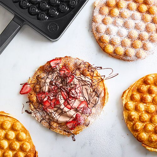 Strawberry Nutella<sup>®</sup> Bubble Waffle
