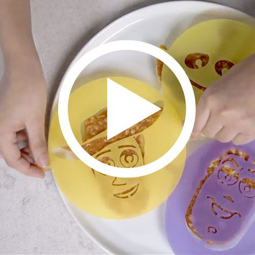 Play Banana Granola Pancakes Video