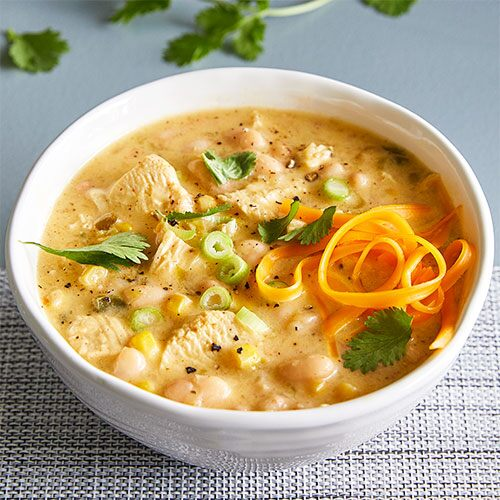 Quick Cooker White Chicken Chili